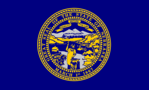 nebraska flag - motorcycle helmet law