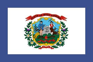 west virginia flag motorcycle helmet law