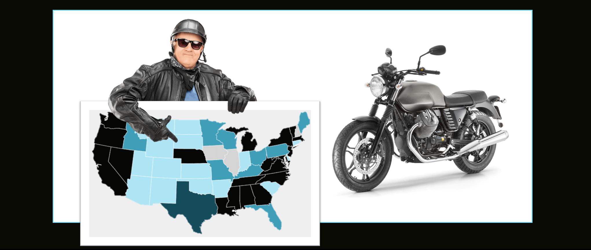 motorcycle helmet laws by state homepage image